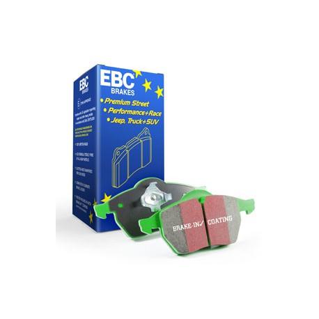 PASTILLAS DE FRENO EBC GREENSTUFF HONDA ACCORD 2.2TD 08-